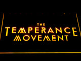 The Temperance Movement LED Neon Sign - Yellow - SafeSpecial