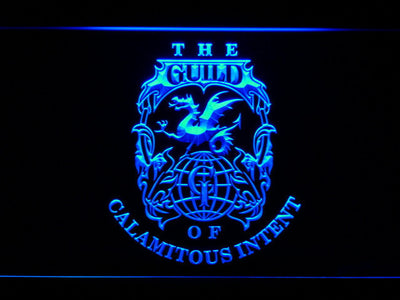 The Venture Bros. The Guild LED Neon Sign - Blue - SafeSpecial