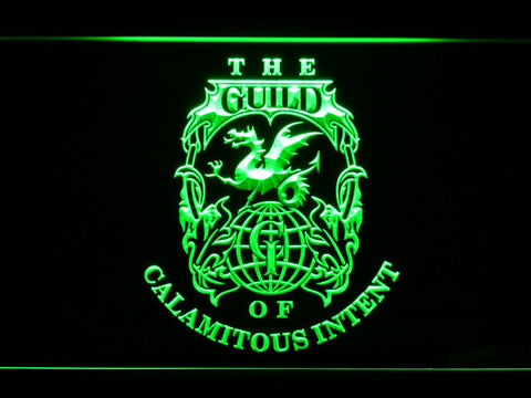 Image of The Venture Bros. The Guild LED Neon Sign - Green - SafeSpecial