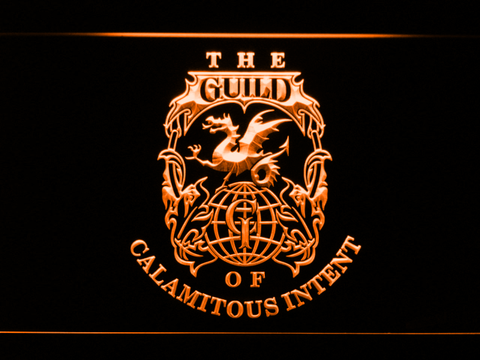 Image of The Venture Bros. The Guild LED Neon Sign - Orange - SafeSpecial