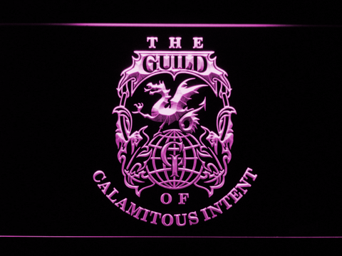 Image of The Venture Bros. The Guild LED Neon Sign - Purple - SafeSpecial