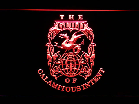 Image of The Venture Bros. The Guild LED Neon Sign - Red - SafeSpecial
