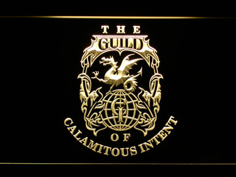 Image of The Venture Bros. The Guild LED Neon Sign - Yellow - SafeSpecial