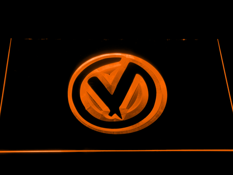 The Virginmarys LED Neon Sign - Orange - SafeSpecial