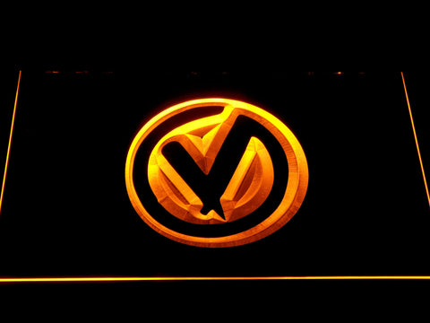 The Virginmarys LED Neon Sign - Yellow - SafeSpecial