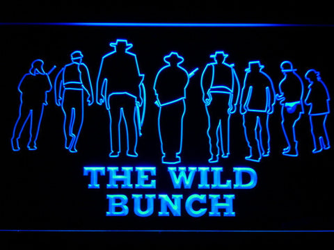 Image of The Wild Bunch LED Neon Sign - Blue - SafeSpecial