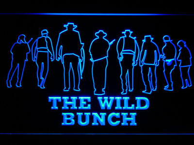 The Wild Bunch LED Neon Sign - Blue - SafeSpecial