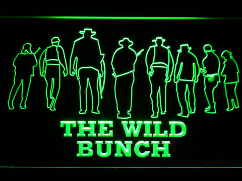 Image of The Wild Bunch LED Neon Sign - Green - SafeSpecial