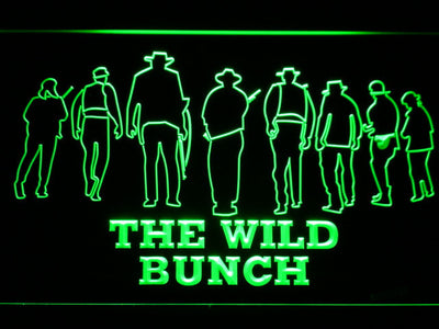 The Wild Bunch LED Neon Sign - Green - SafeSpecial