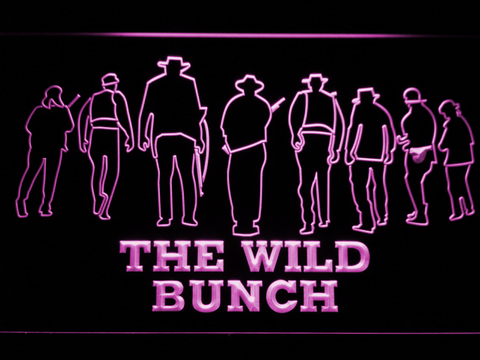 Image of The Wild Bunch LED Neon Sign - Purple - SafeSpecial