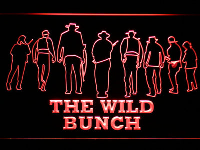 The Wild Bunch LED Neon Sign - Red - SafeSpecial