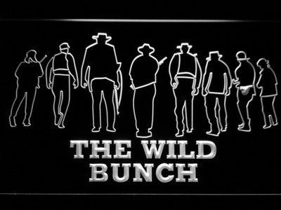 The Wild Bunch LED Neon Sign - White - SafeSpecial