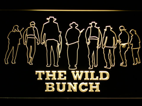 Image of The Wild Bunch LED Neon Sign - Yellow - SafeSpecial