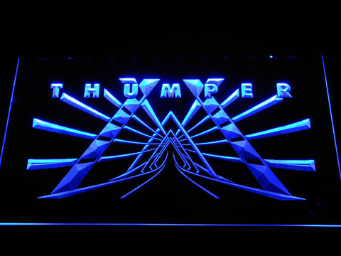 Image of Thumper LED Neon Sign - Blue - SafeSpecial
