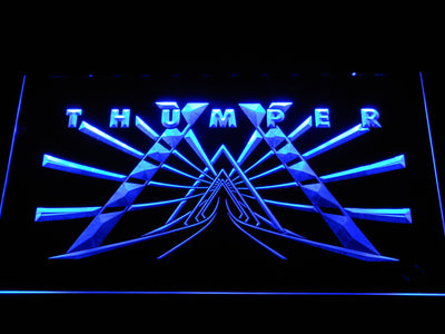 Thumper LED Neon Sign - Blue - SafeSpecial