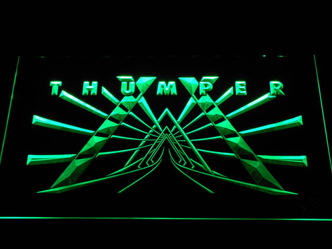 Image of Thumper LED Neon Sign - Green - SafeSpecial