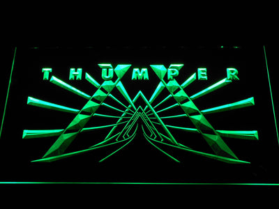 Thumper LED Neon Sign - Green - SafeSpecial