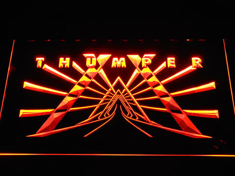 Image of Thumper LED Neon Sign - Orange - SafeSpecial