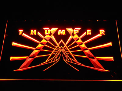 Thumper LED Neon Sign - Orange - SafeSpecial