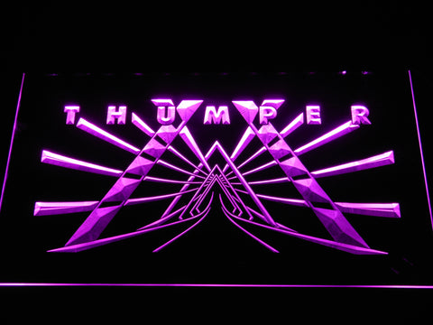 Image of Thumper LED Neon Sign - Purple - SafeSpecial