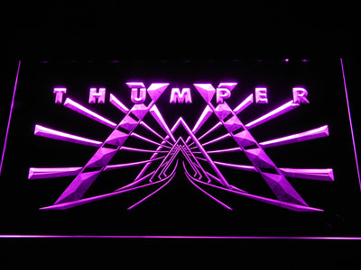 Thumper LED Neon Sign - Purple - SafeSpecial
