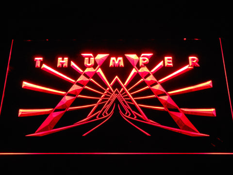 Image of Thumper LED Neon Sign - Red - SafeSpecial