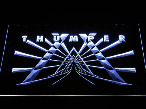 Image of Thumper LED Neon Sign - White - SafeSpecial