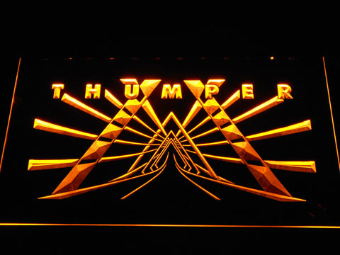 Image of Thumper LED Neon Sign - Yellow - SafeSpecial