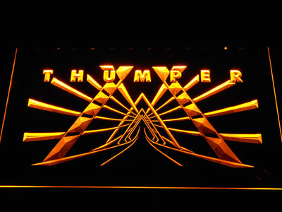Thumper LED Neon Sign - Yellow - SafeSpecial