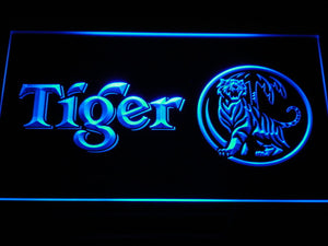 Tiger LED Neon Sign - Blue - SafeSpecial