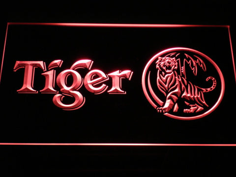 Tiger LED Neon Sign - Red - SafeSpecial