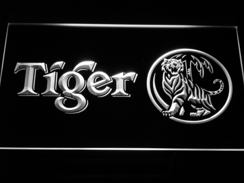 Tiger LED Neon Sign - White - SafeSpecial