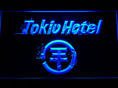 Tokio Hotel LED Neon Sign - Blue - SafeSpecial