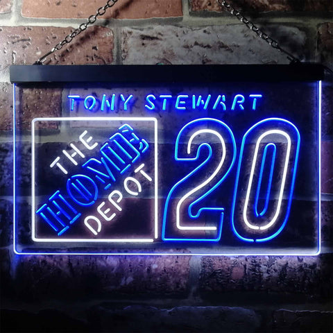 Image of Tony Stewart 20 Neon-Like LED Sign - Dual Color