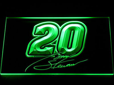 Tony Stewart Signature 20 LED Neon Sign - Green - SafeSpecial