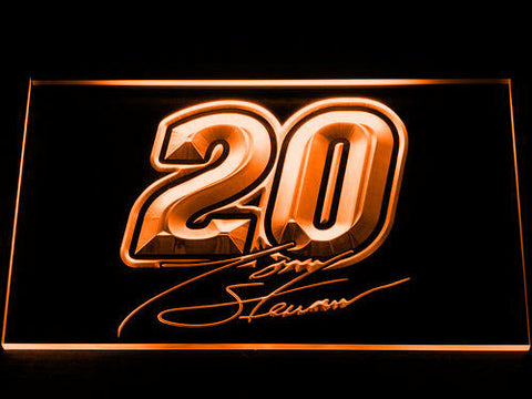 Tony Stewart Signature 20 LED Neon Sign - Orange - SafeSpecial