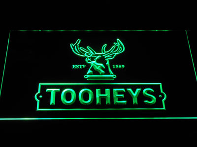 Tooheys Stag LED Neon Sign - Green - SafeSpecial