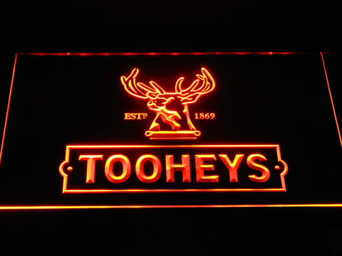 Image of Tooheys Stag LED Neon Sign - Orange - SafeSpecial
