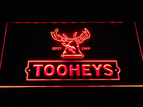 Image of Tooheys Stag LED Neon Sign - Red - SafeSpecial