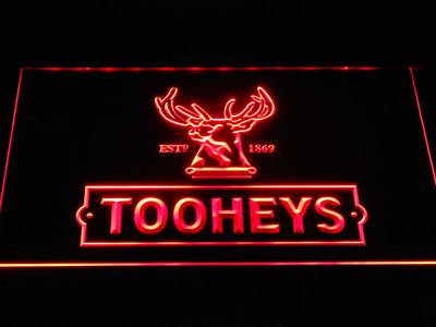 Tooheys Stag LED Neon Sign - Red - SafeSpecial