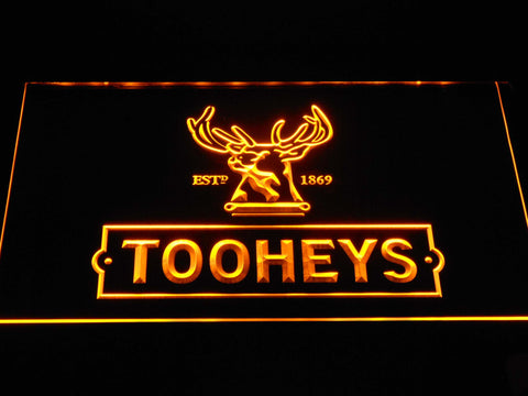 Image of Tooheys Stag LED Neon Sign - Yellow - SafeSpecial