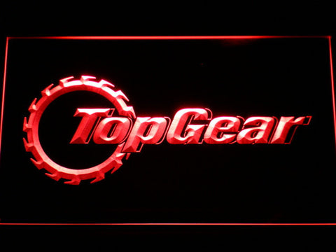 Image of Top Gear LED Neon Sign - Red - SafeSpecial