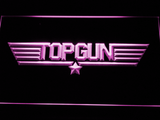 Top Gun LED Neon Sign - Purple - SafeSpecial