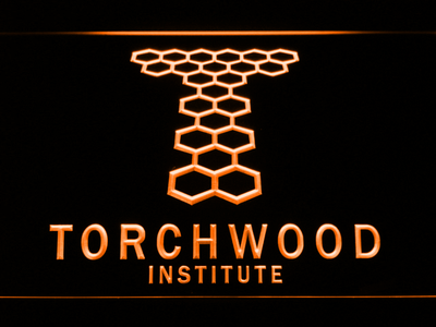 Torchwood Institute LED Neon Sign - Orange - SafeSpecial
