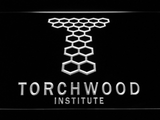 Torchwood Institute LED Neon Sign - White - SafeSpecial