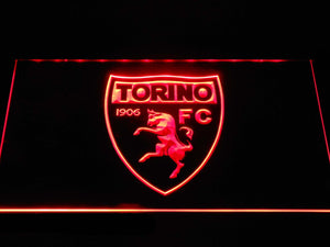 Torino F.C. LED Neon Sign - Red - SafeSpecial
