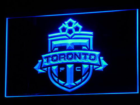 Toronto FC LED Neon Sign - Blue - SafeSpecial