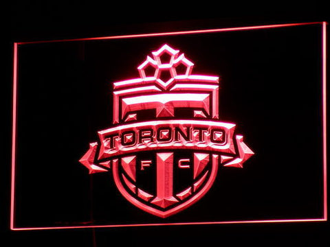 Toronto FC LED Neon Sign - Red - SafeSpecial