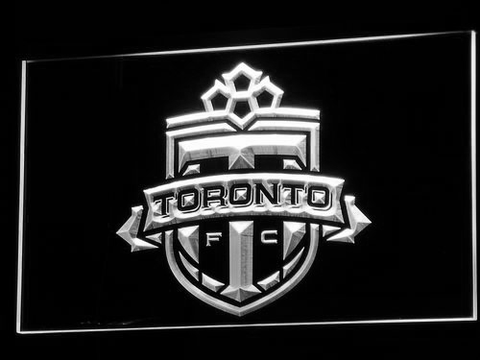 Toronto FC LED Neon Sign - White - SafeSpecial