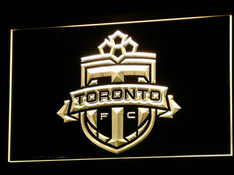 Toronto FC LED Neon Sign - Yellow - SafeSpecial